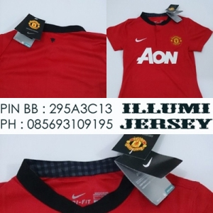 1_Manchaster United Home 201314 Ladies Grade Ori-ladies
