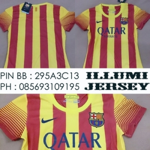 6_Barcelona Away Ladies 2013-14 Grade Ori