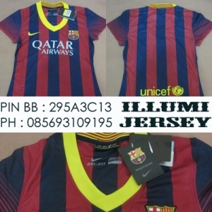 8_Barcelona Home Ladies 2013-14 Grade Ori