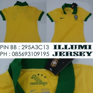 Brazil Home Ladies 2013-14 Grade Ori